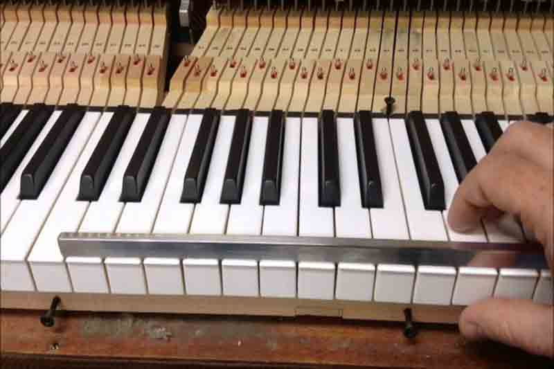 Learn piano one